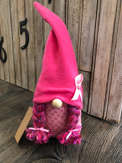Breast Cancer Strength Gnome (b)