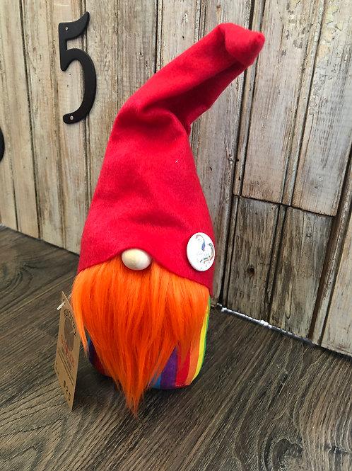 Orange Rainbow Gnome