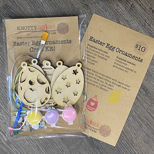 Easter Egg Ornament Craft Kit