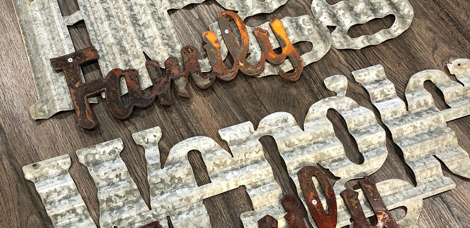 Custom Sign Steel