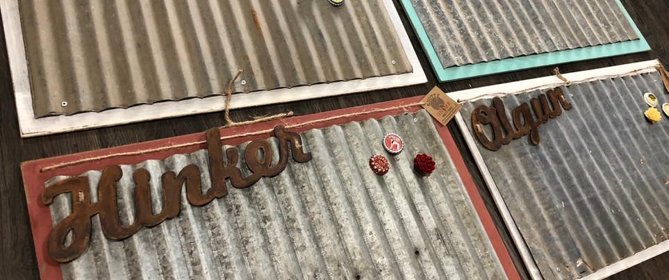 Custom Sign Wood/Steel