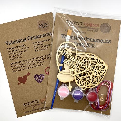 Valentine Ornament Craft Kit