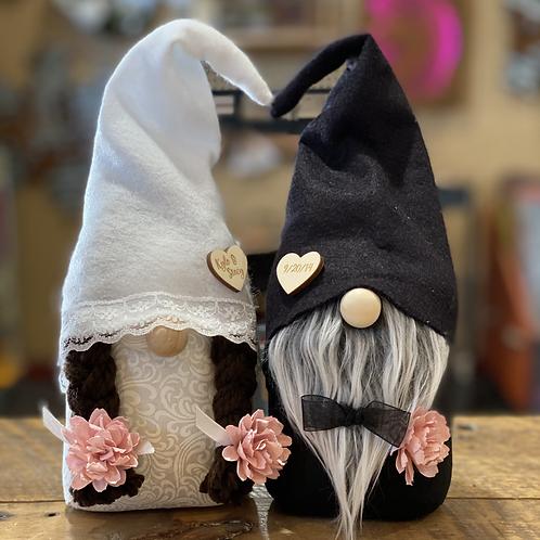 Custom Wedding Gnomes