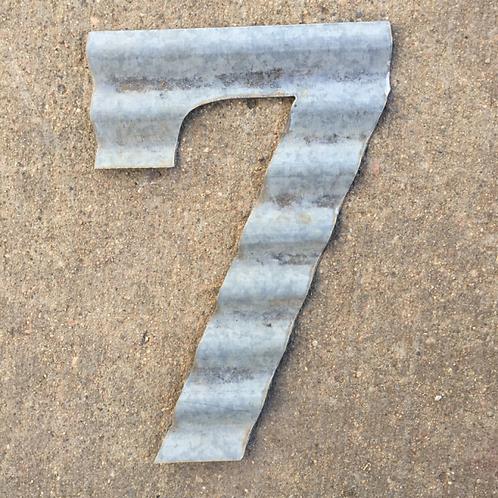 "Corrugated ""7"""