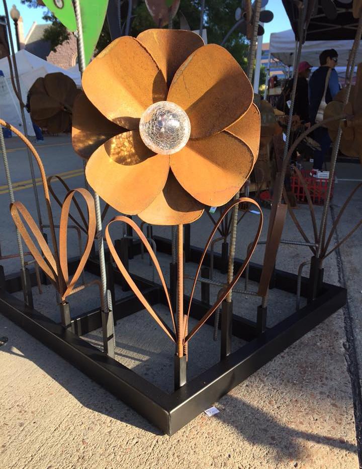 Solar Light Flower