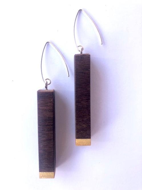 Wood Earrings #45