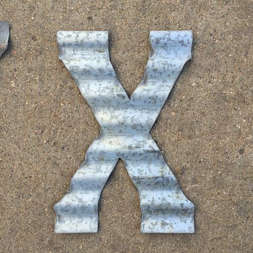 "Corrugated ""X"""