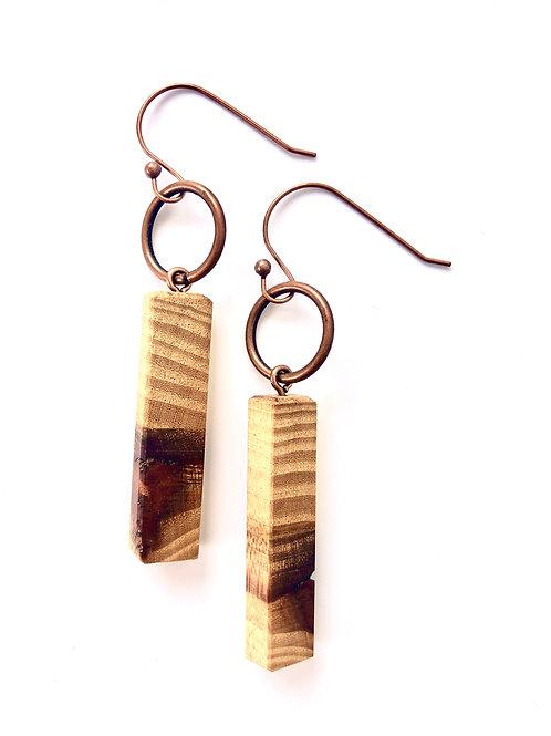 Wooden Earrings #15
