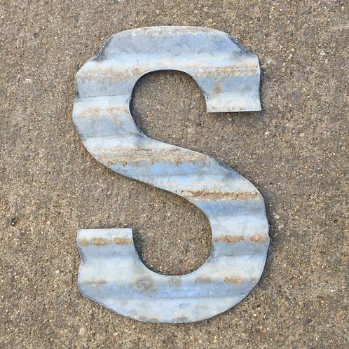 """Corrugated """"S"""""""