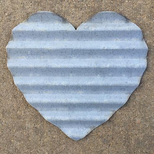 "Corrugated ""heart"""