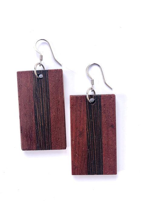 Wooden Earrings #19