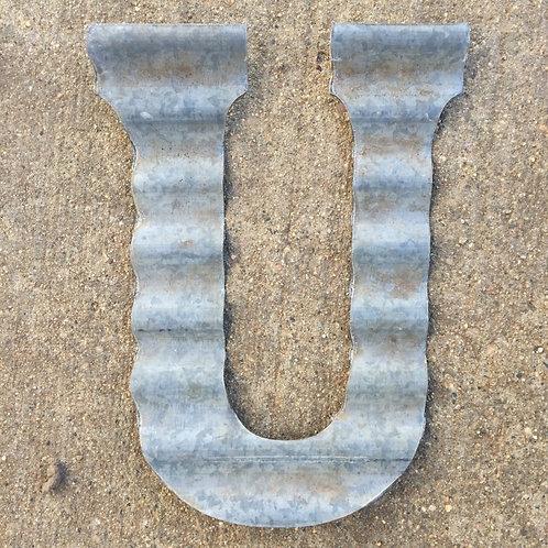 """Corrugated """"U"""""""