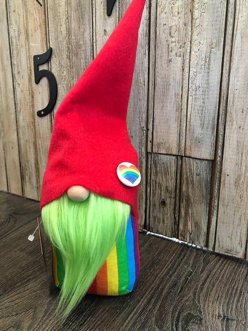 Green Rainbow Gnome