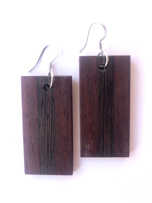 Wood Earrings #46