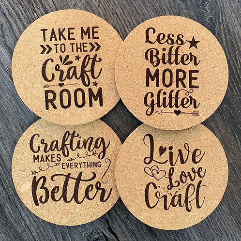 Crafting Cork Coasters
