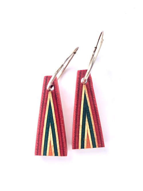Skateboard Earrings #5