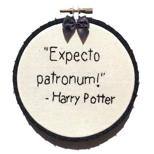 Expecto Patronum! Embroidery