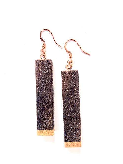 Wooden Earrings #16