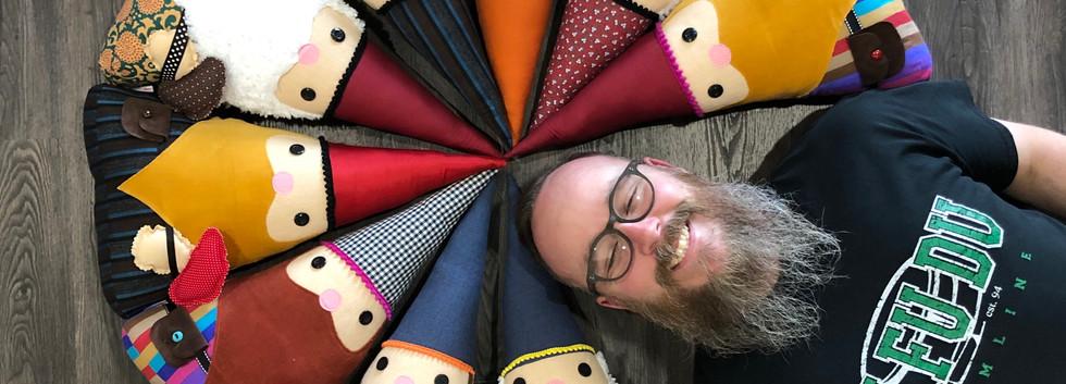 Gnome Pillows