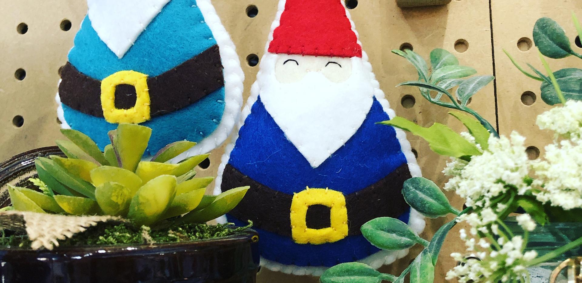 Felt Gnome Ornament