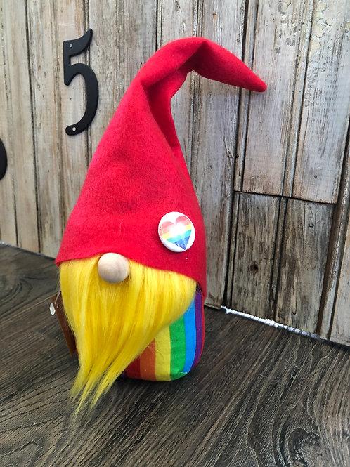 Yellow Rainbow Gnome