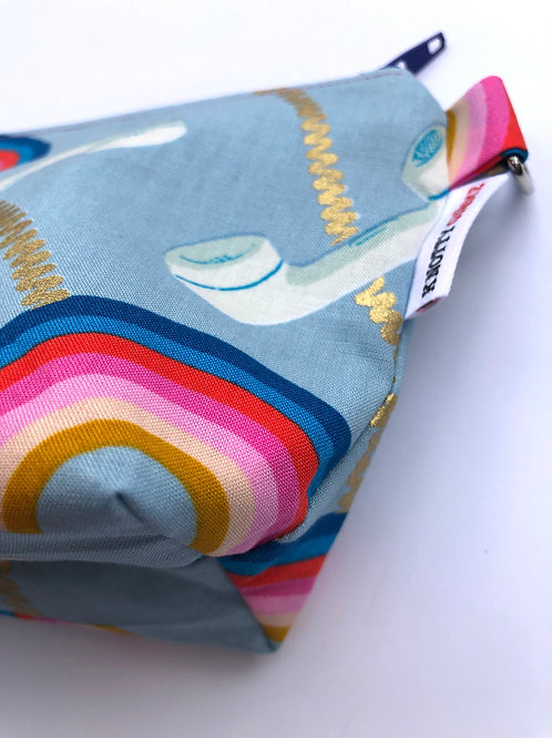 Rainbow Telephone F* Makeup Bag (s)