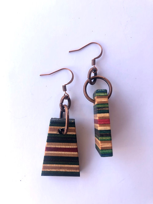 Skateboard Earrings #56