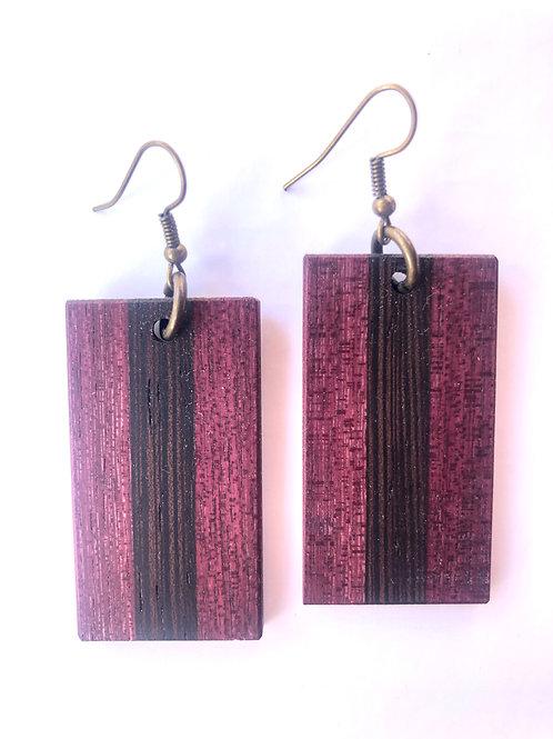 Wood Earrings #47