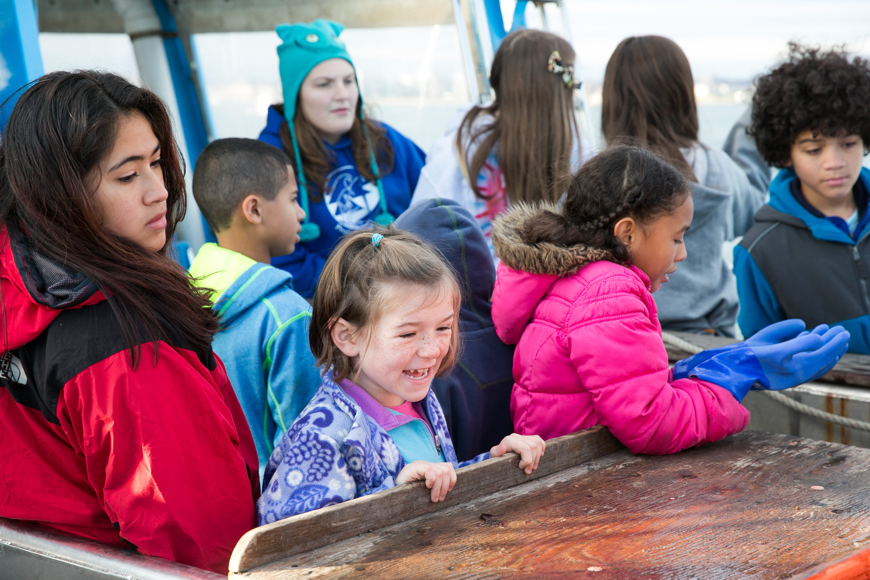 All ages fun aboard the Enviro-Lab