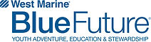 Project Oceanology partner, West Marine Blue Future, logo