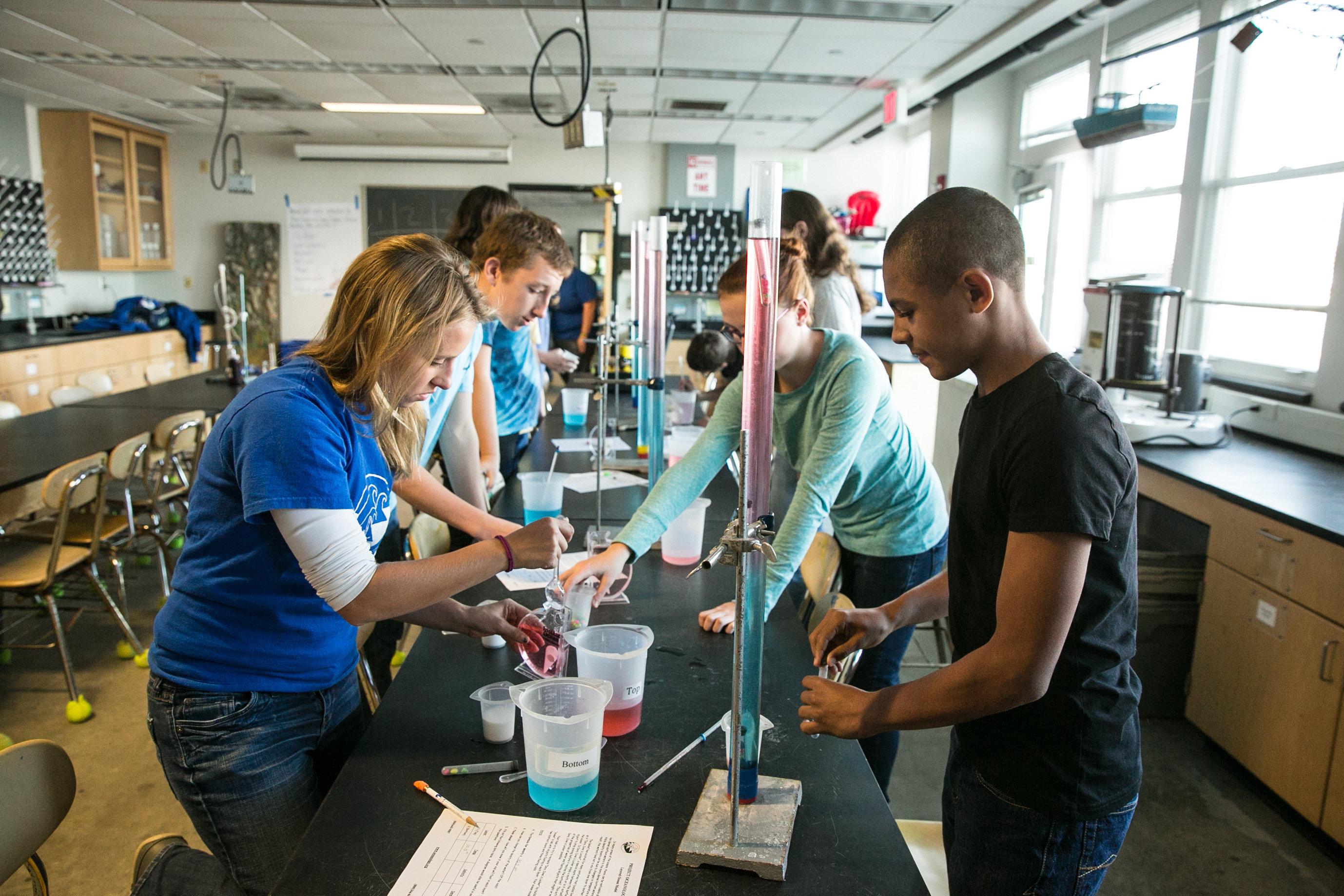 Project Oceanology's Laboratories