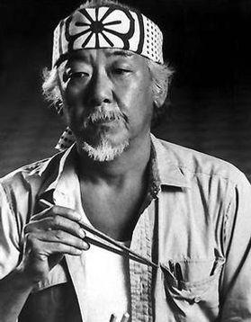 Noriyuki Pat Morita en Karate Kid, 1983