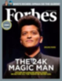 Bruno Mars en Forbes