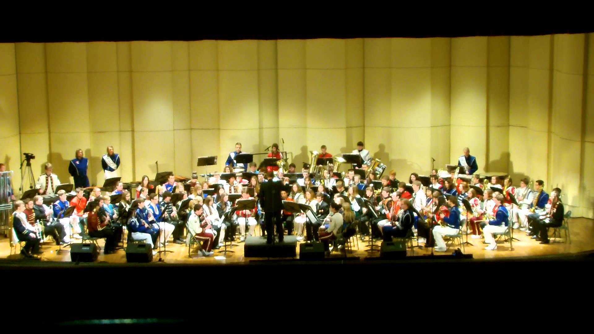 2013 wv all state band picture