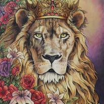 Donna Smallenberg Lion In Your Garden