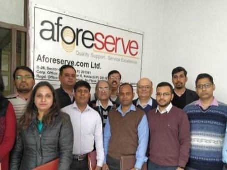 Reinforce to improve, improve to sustain - The Aforeserve Journey
