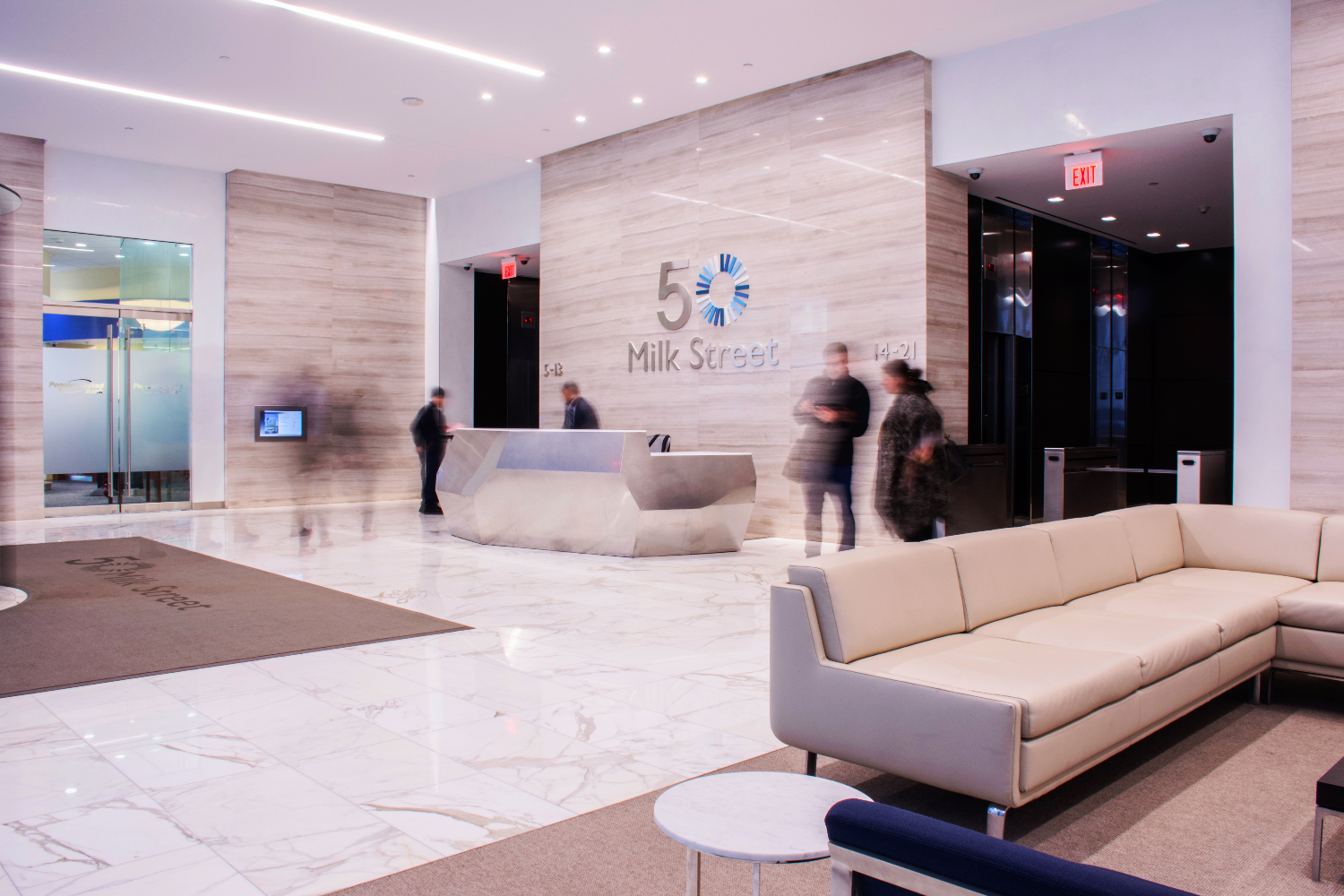 Commercial Office Building Lobby