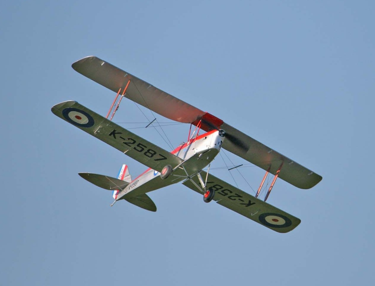 Derek Knights Tiger Moth