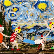 Piece 26 - A starry night, but the conga line continues