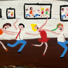 Piece 14 - A gallery full of groundbreaking art, but the conga line continues