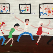 Piece 15 - A gallery full of groundbreaking art, but the conga line continues