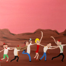 Piece 10 - Beautiful Sunset, but the conga continues!