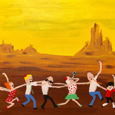 Piece 9 - Heat in the desert, but the conga continues!