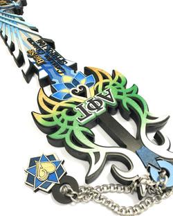 custom greek paddle keyblade