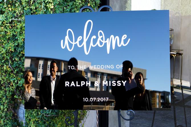 R & M Wedding 10/07/2017