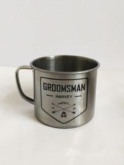 Groomsmen Engraved Mug
