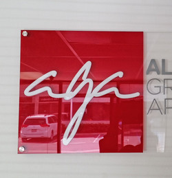 Acrylic In-Store Sign