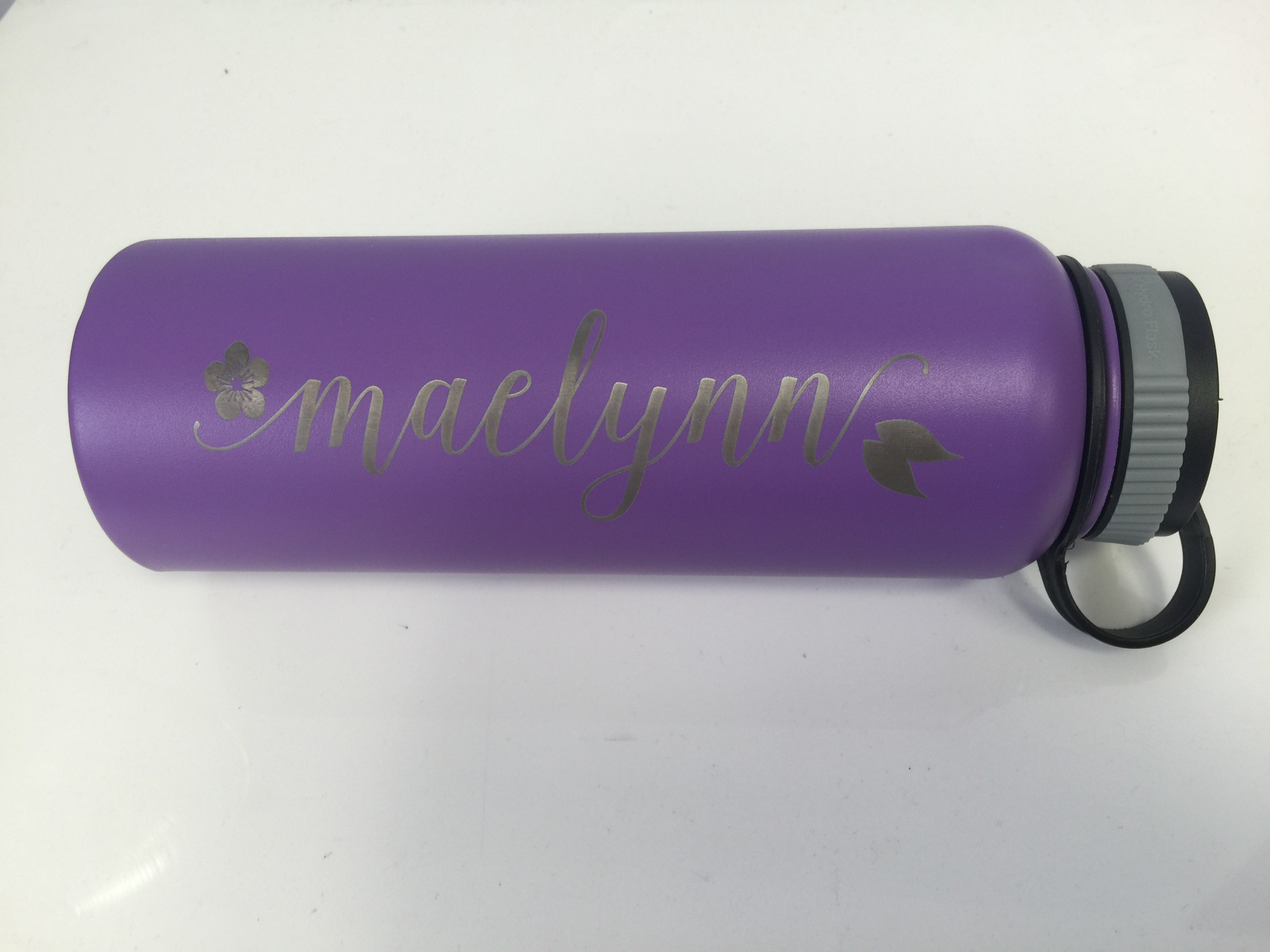 Laser Engraved Insulated Bottle