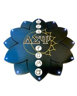 custom lotus greek paddle lights