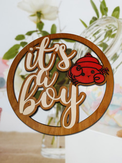 It's a Boy Baby Shower Sign